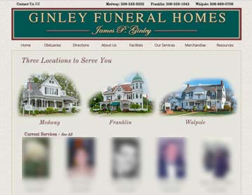 Ginley Funeral Homes, Franklin, Medway and Walpole, MA